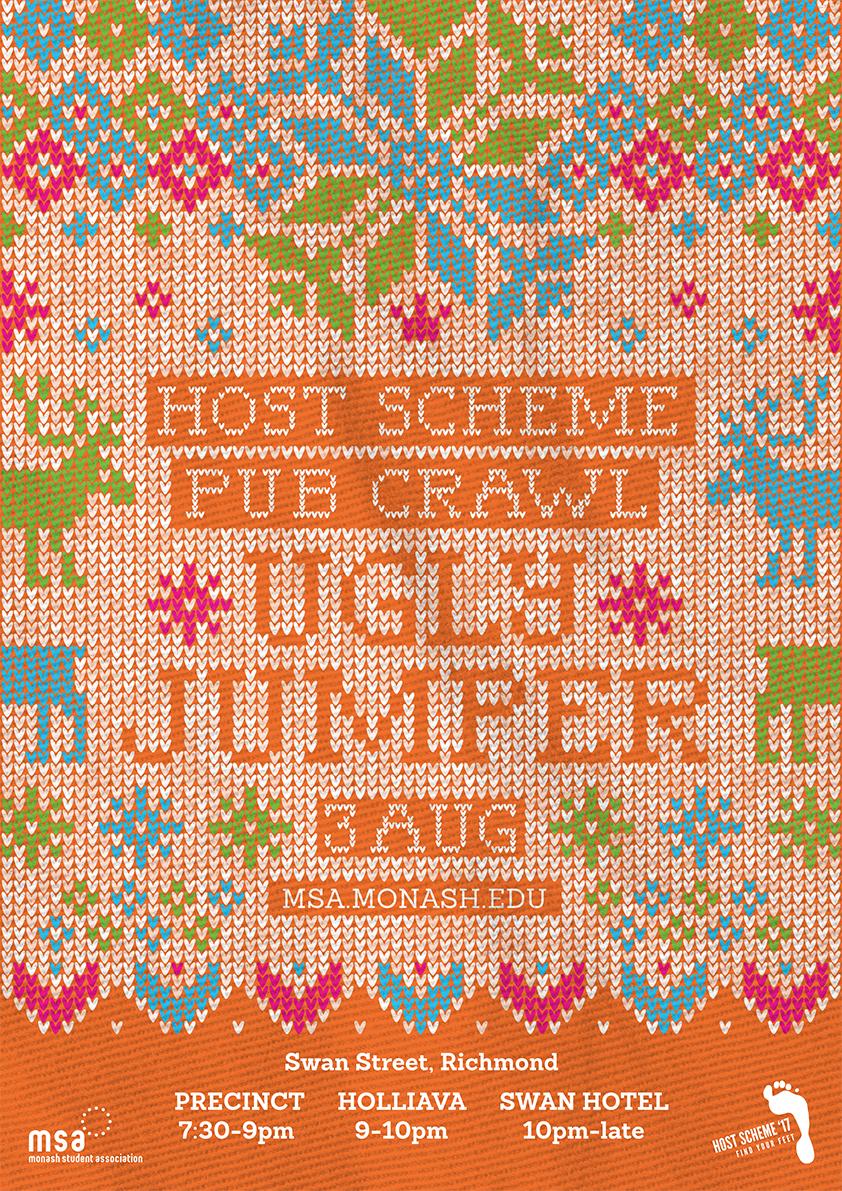 Ugly Jumper Pub Crawl