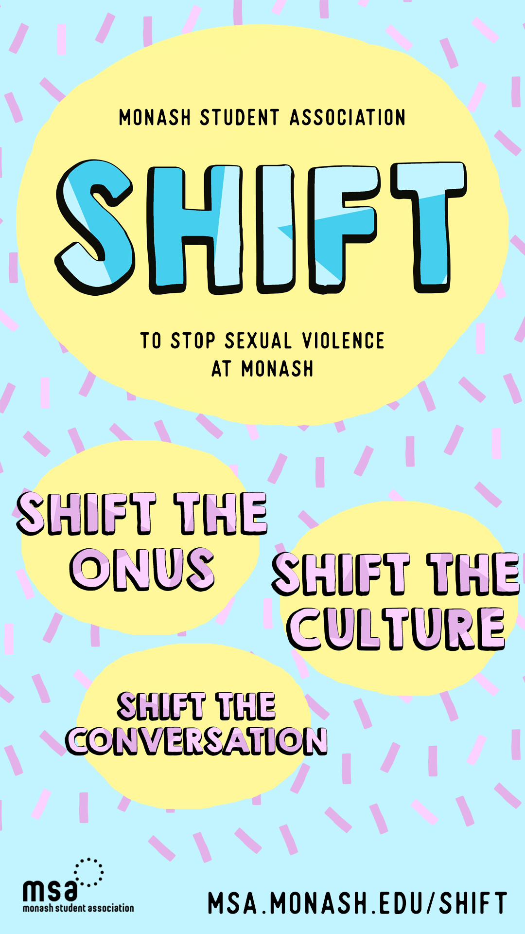 SHIFT: a campaign against sexual violence at Monash