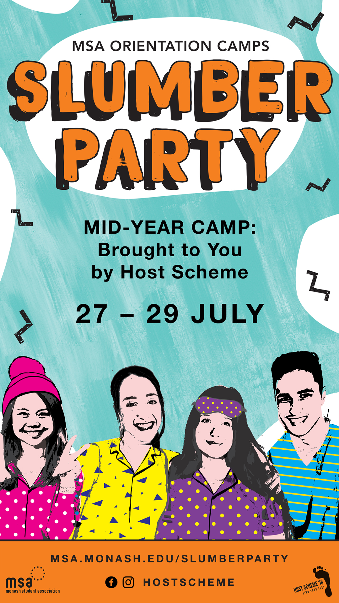 Mid-Year Camp: Slumber Party