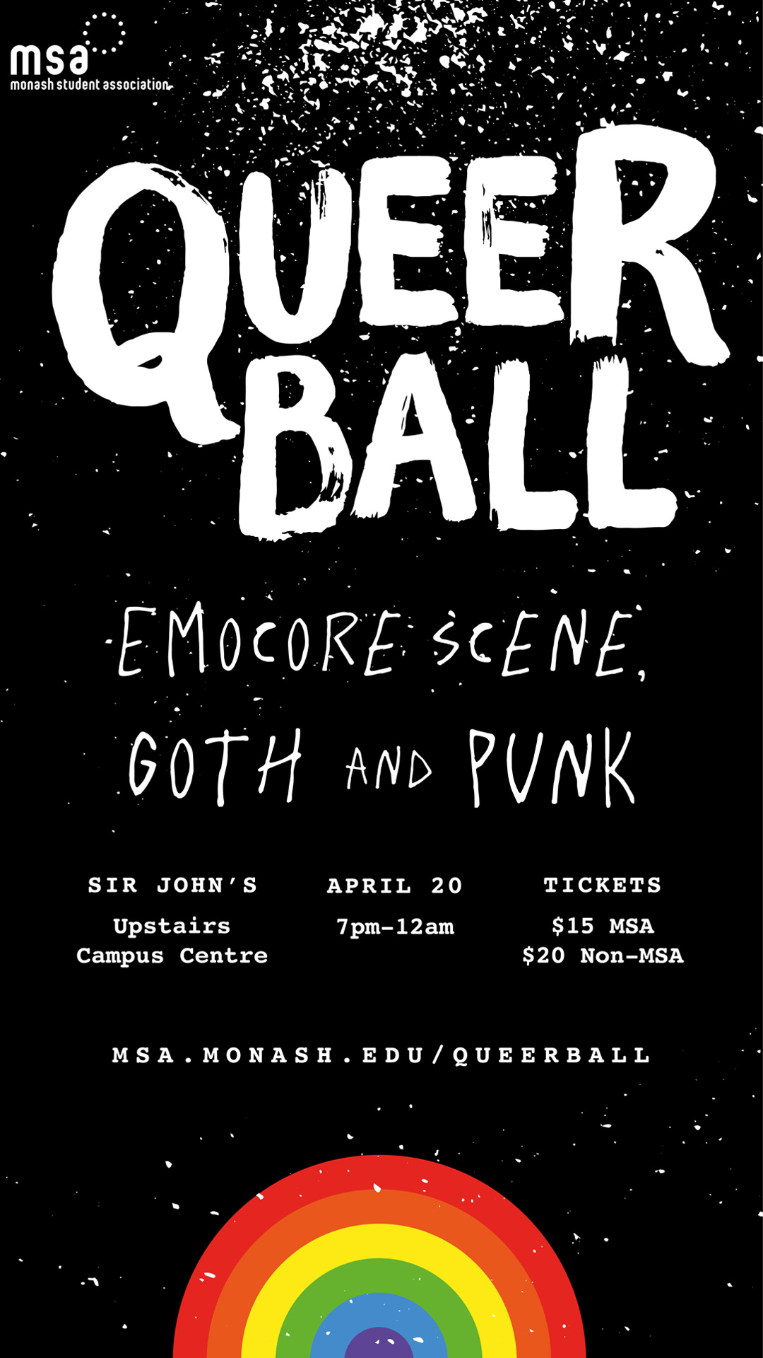 Queer Ball: Emocore Scene, Goth and Punk