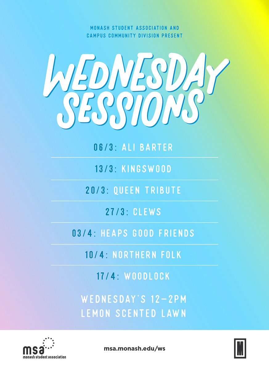 Wednesday Sessions 2019