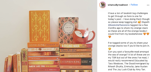 10 Bookstagrams to follow